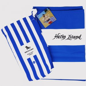 Dock and Bay Cabana Towel striped