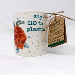 planet happy mug recycled mug